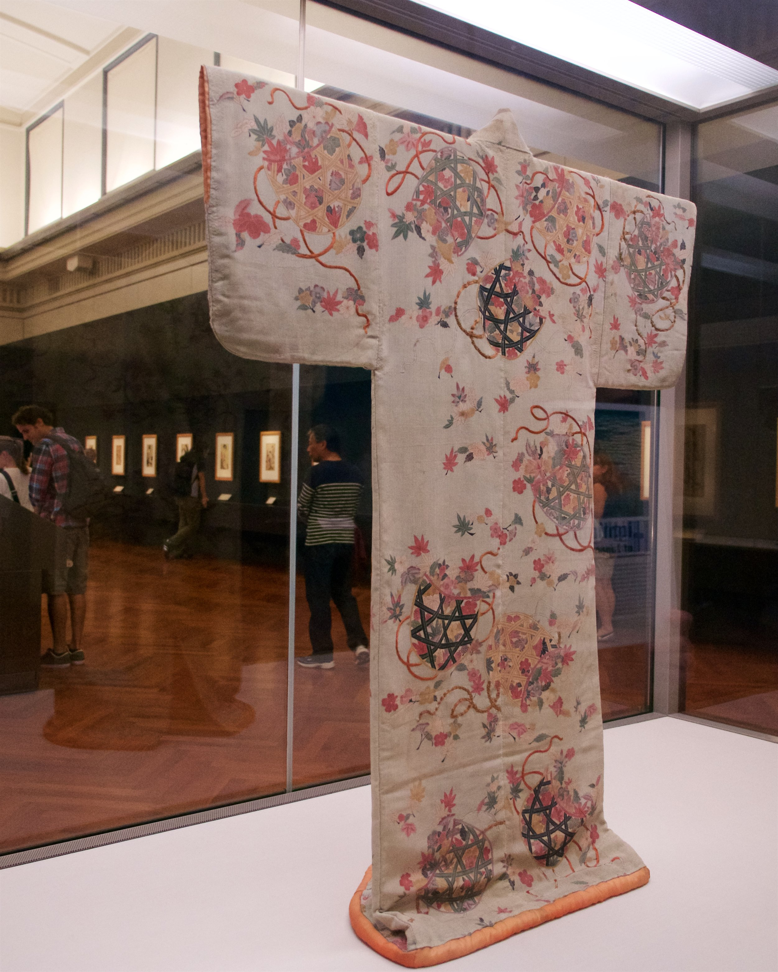 Kosode (garment with small wrist openings)