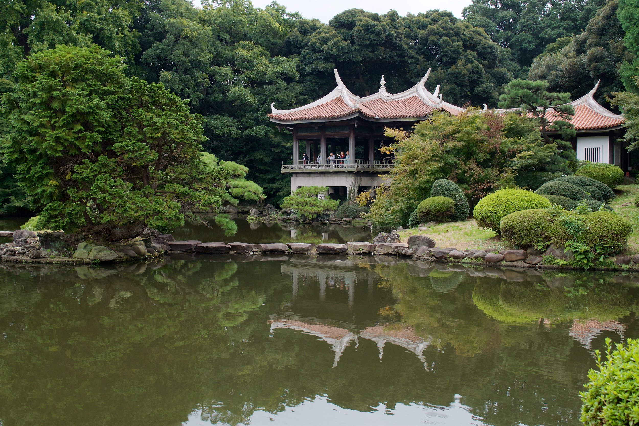 Taiwan Pavilion, upper pond