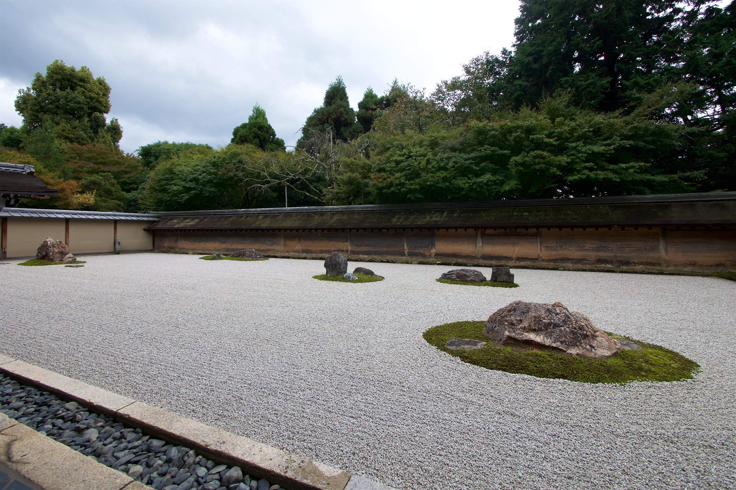 Ryoanji stone garden