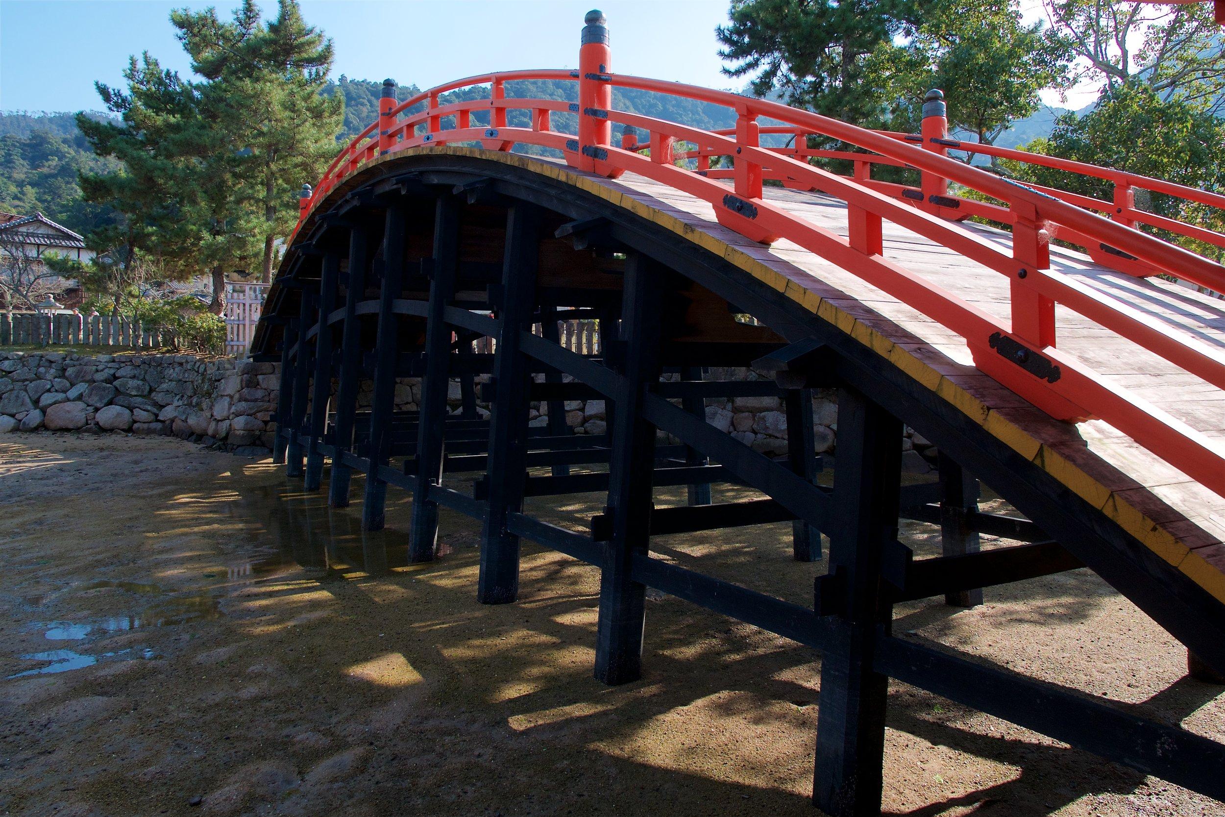Bridge at Itsukushima-jinja
