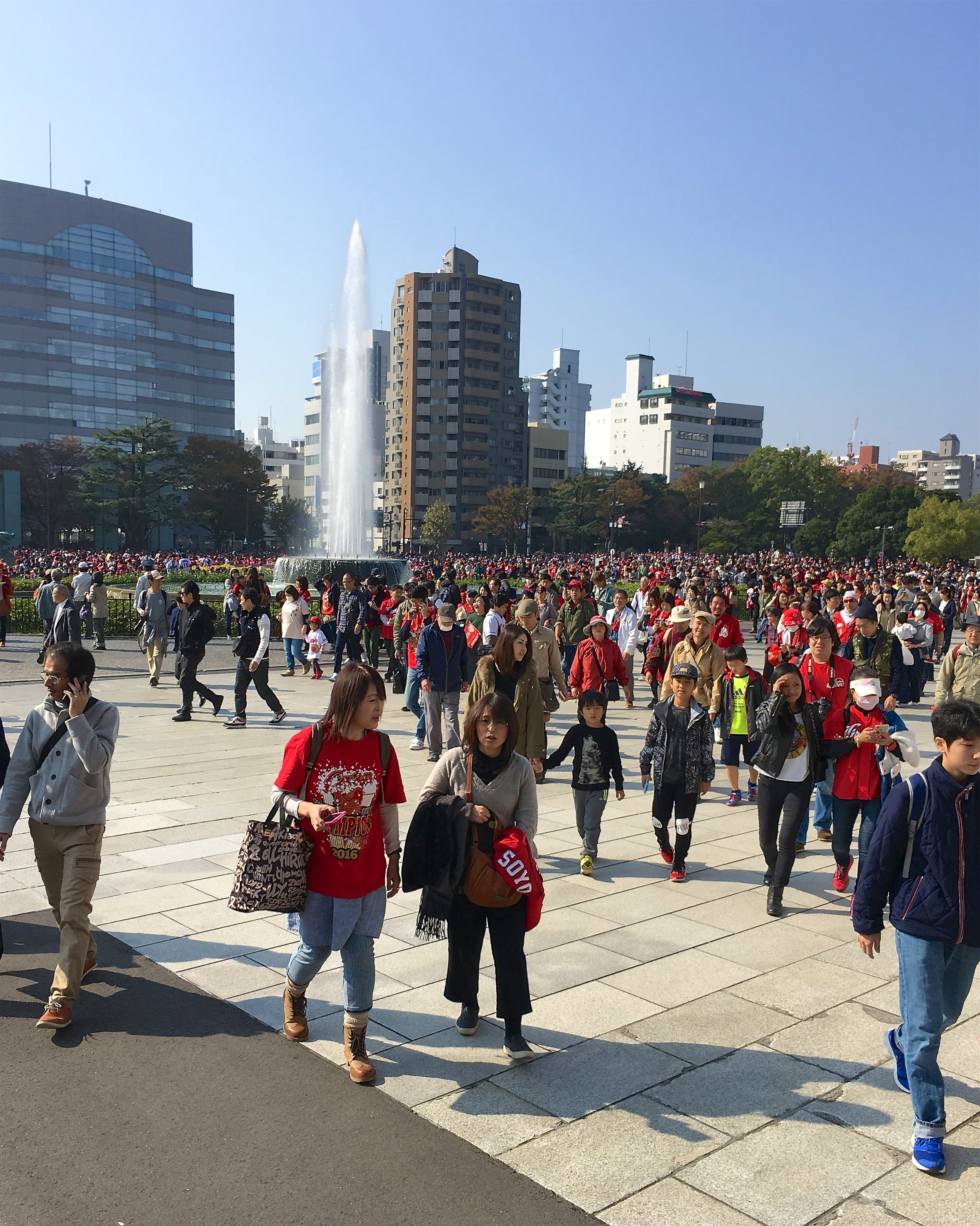Hiroshima Carp fans