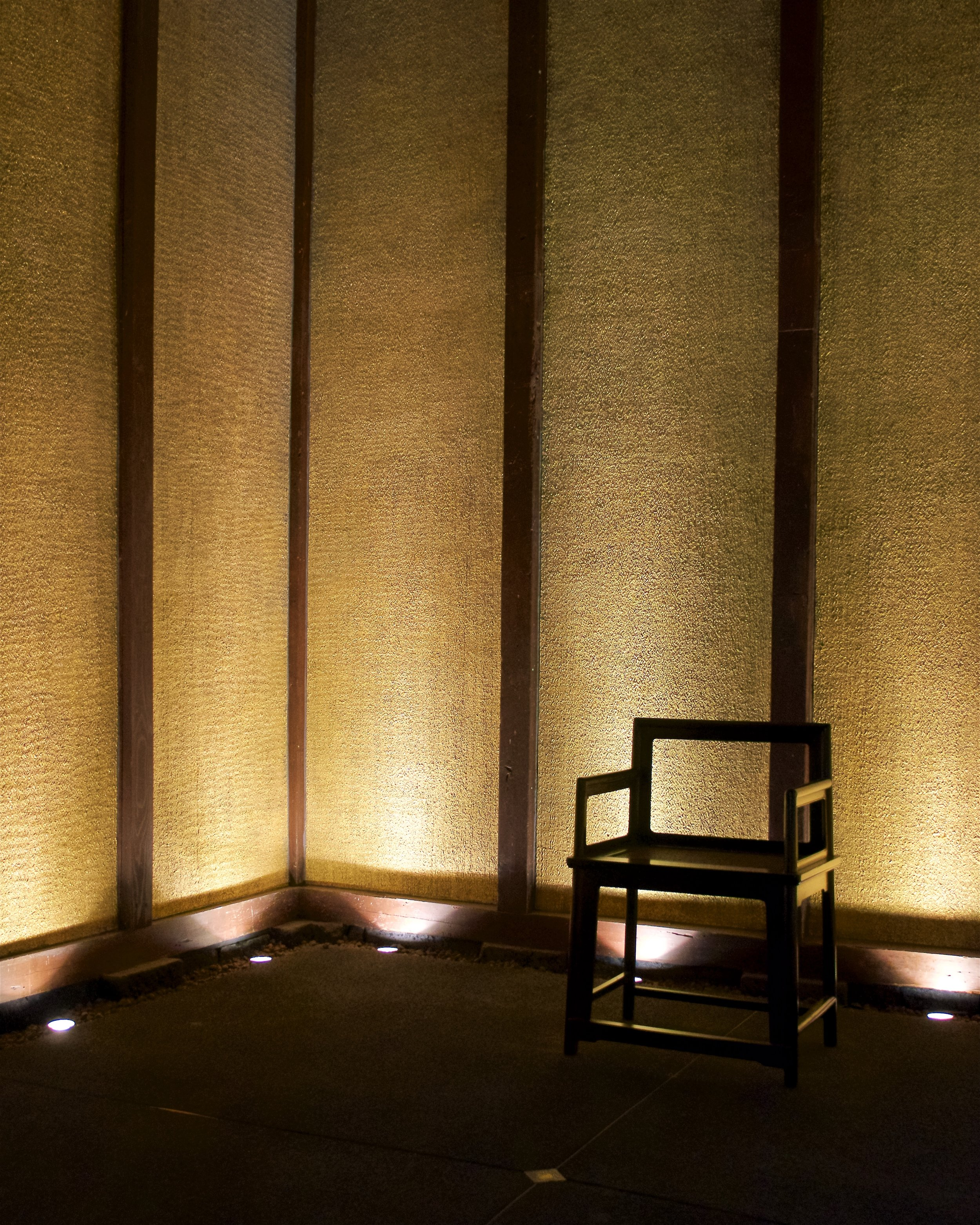 Storehouse with 24k gold leaf on the walls