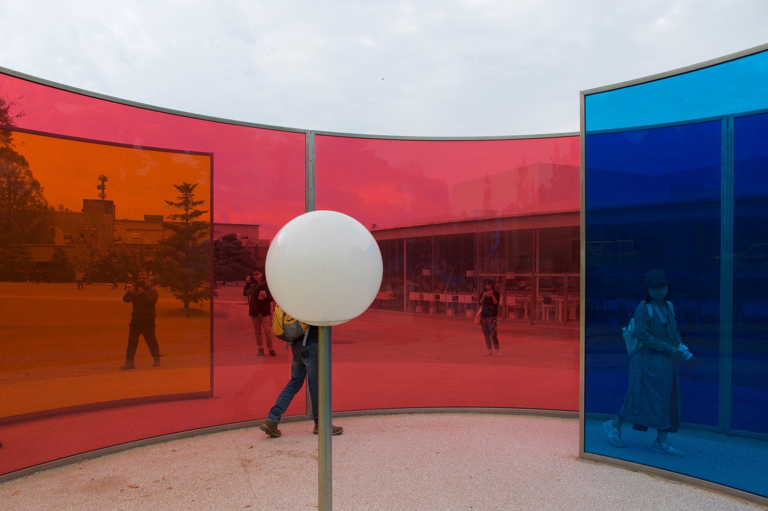 Colour activity house,Olafur Eliasson