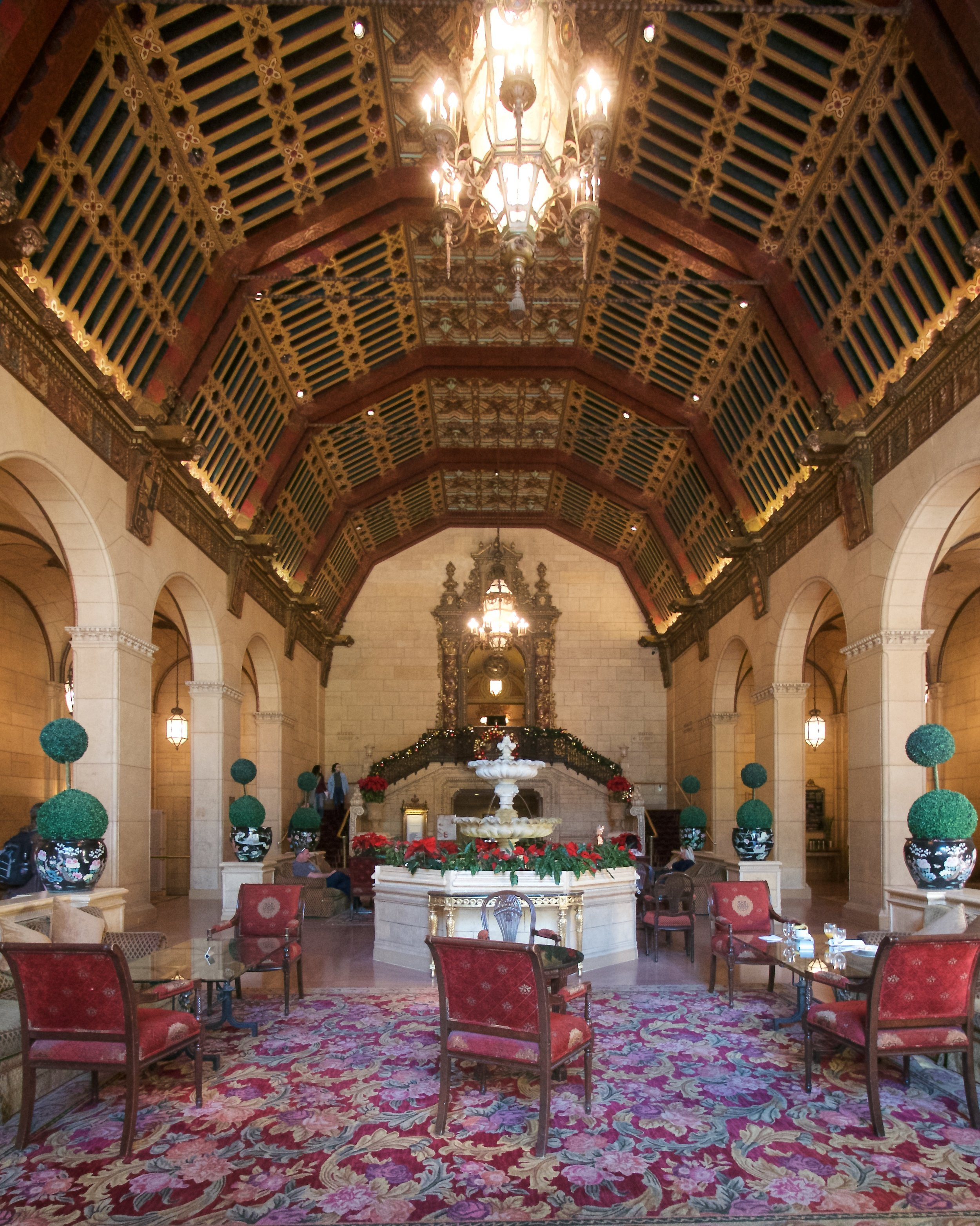 Original lobby of the Millenium Biltmore Hotel