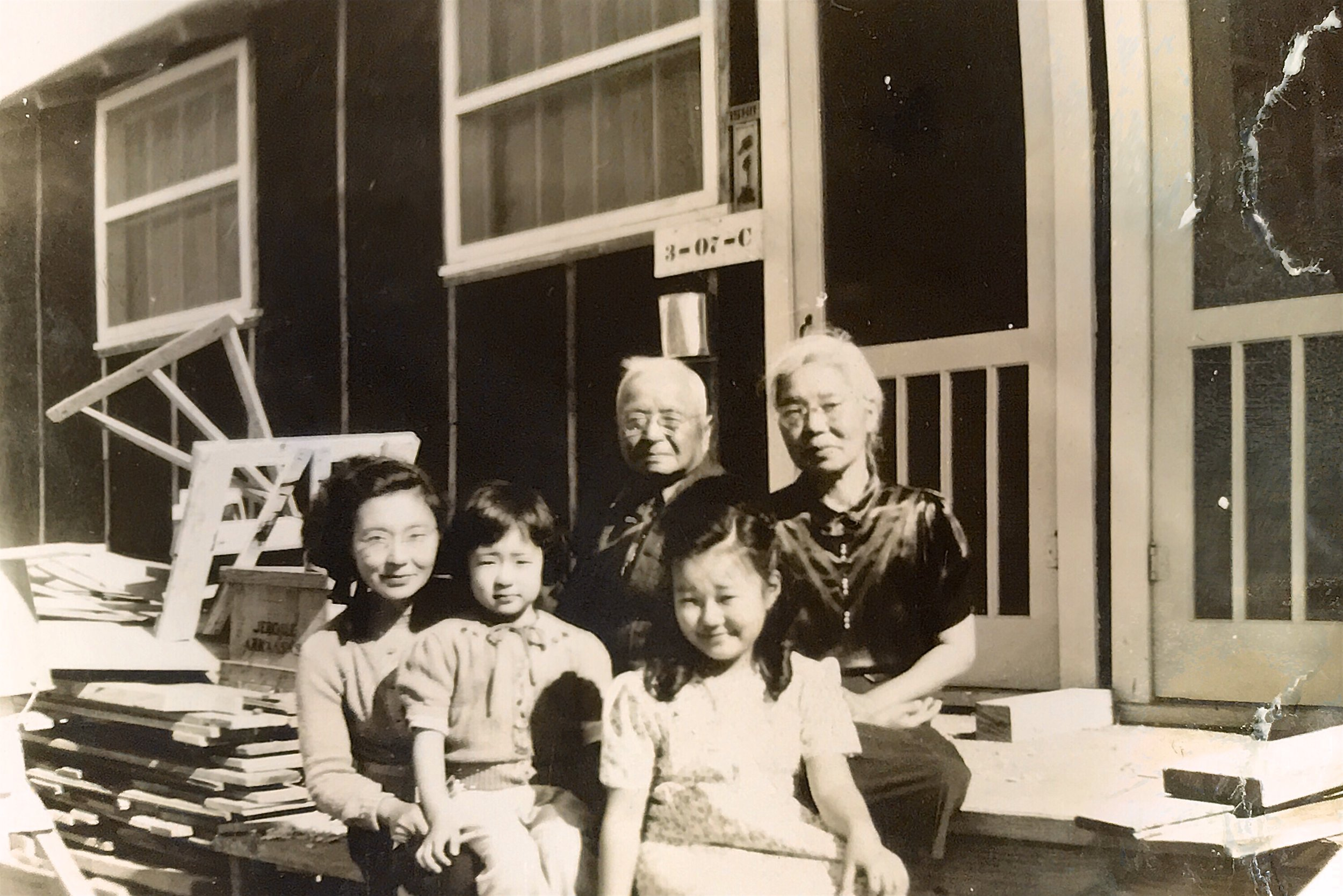 Hisa, Kiyo, Matsutaro (Henry), Frances, and Aki. Henry and Aki were my grandmother's parents.