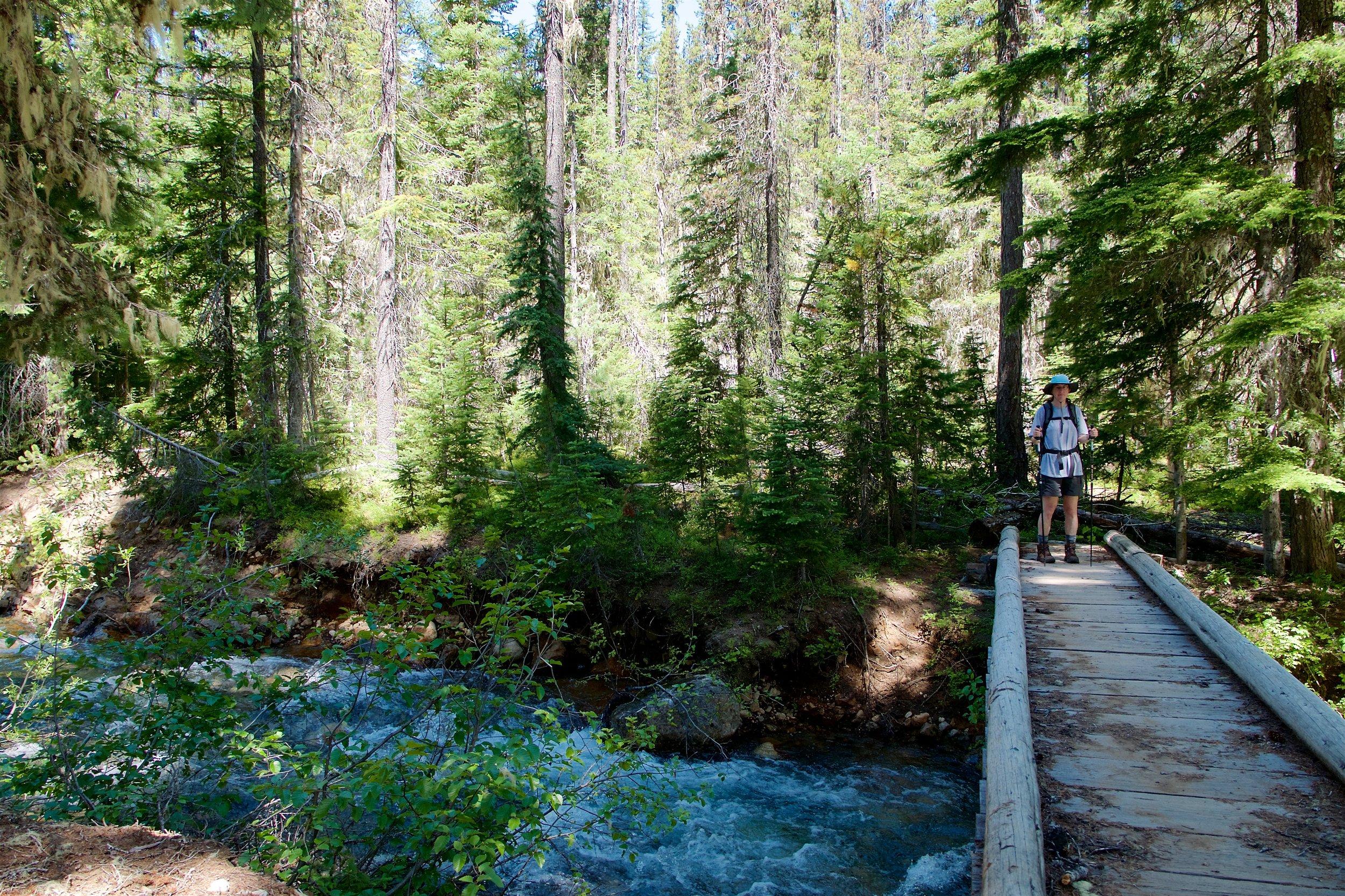 Creek where we had lunch
