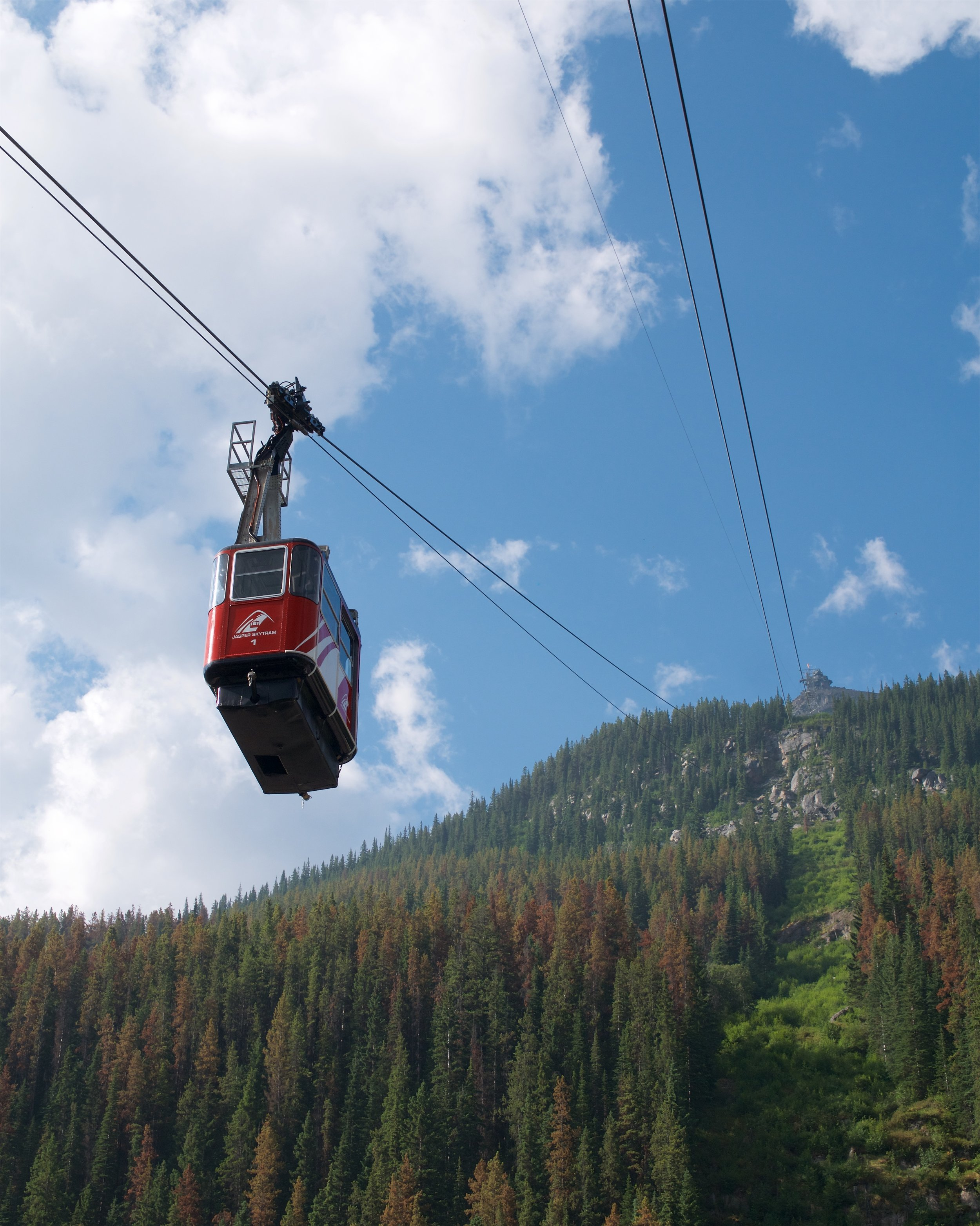 One of the two gondolas
