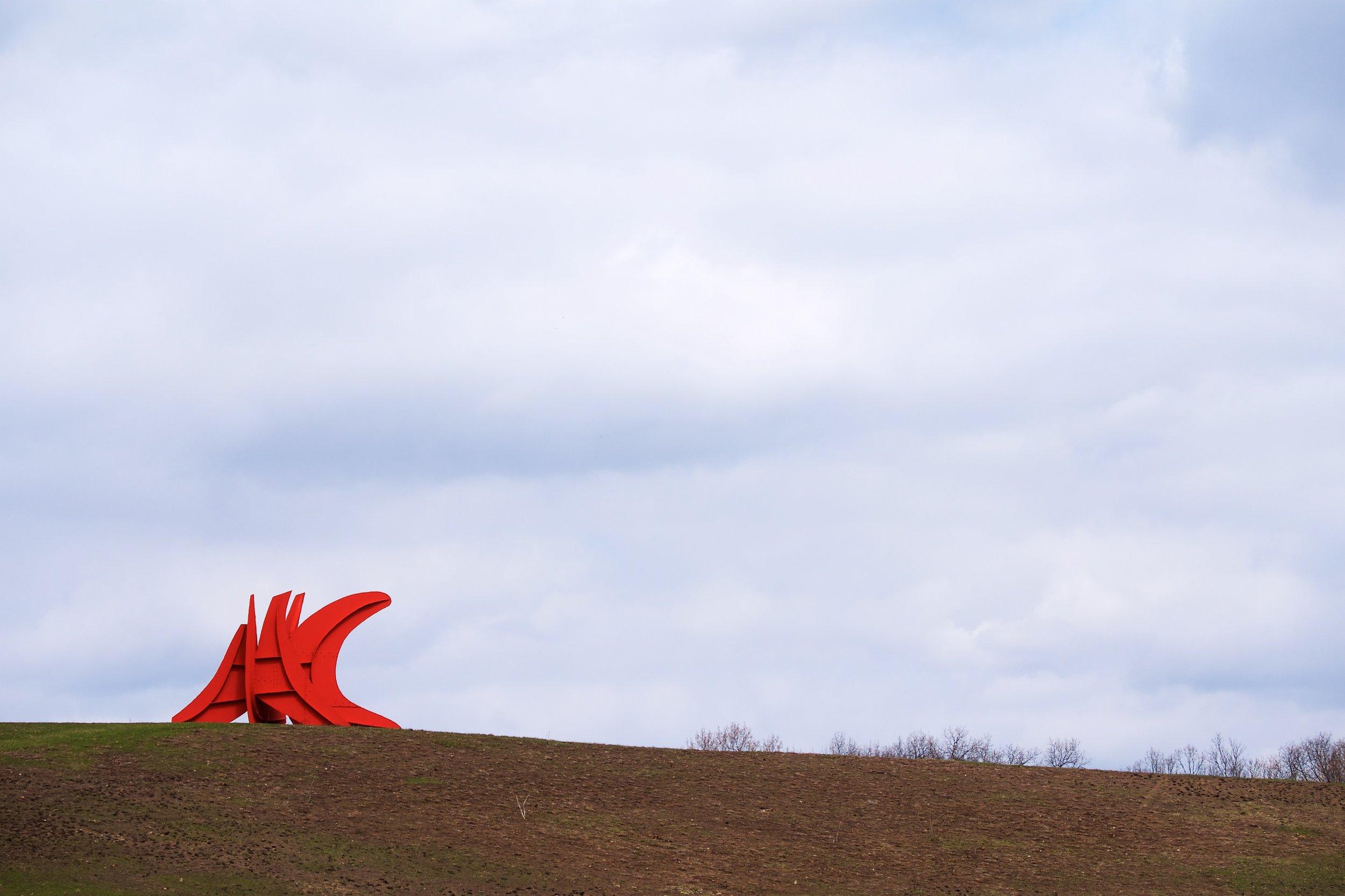Five Swords, Alexander Calder