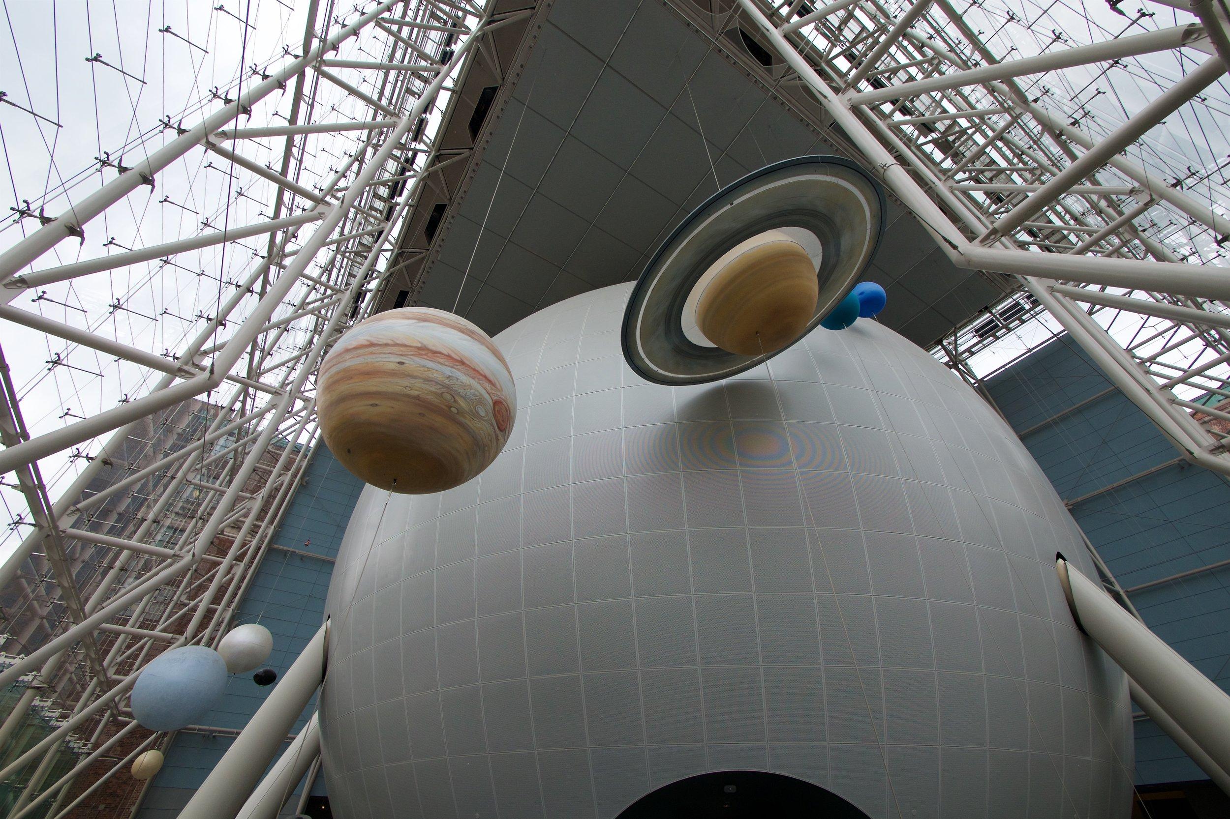 Hayden Sphere and planets