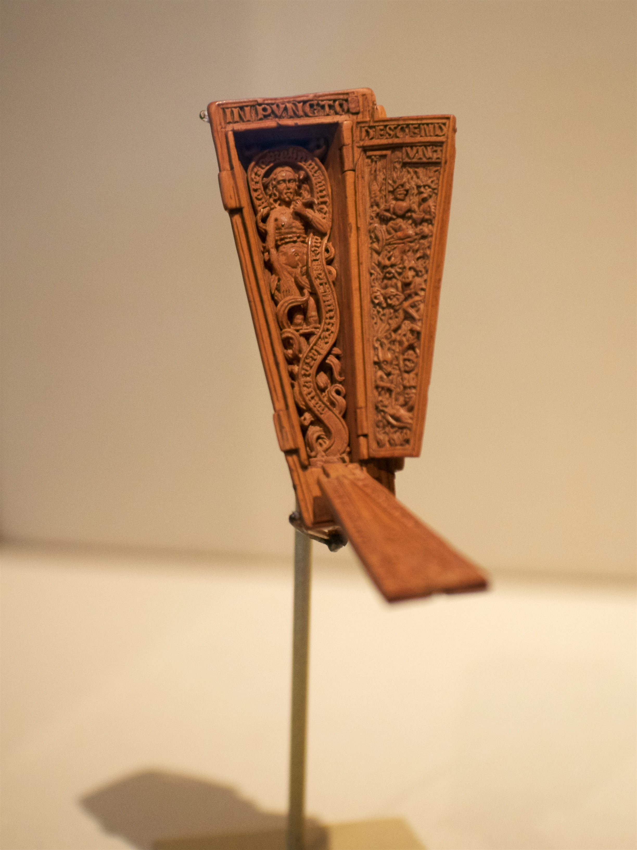 Miniature Coffin with Dives in Hell