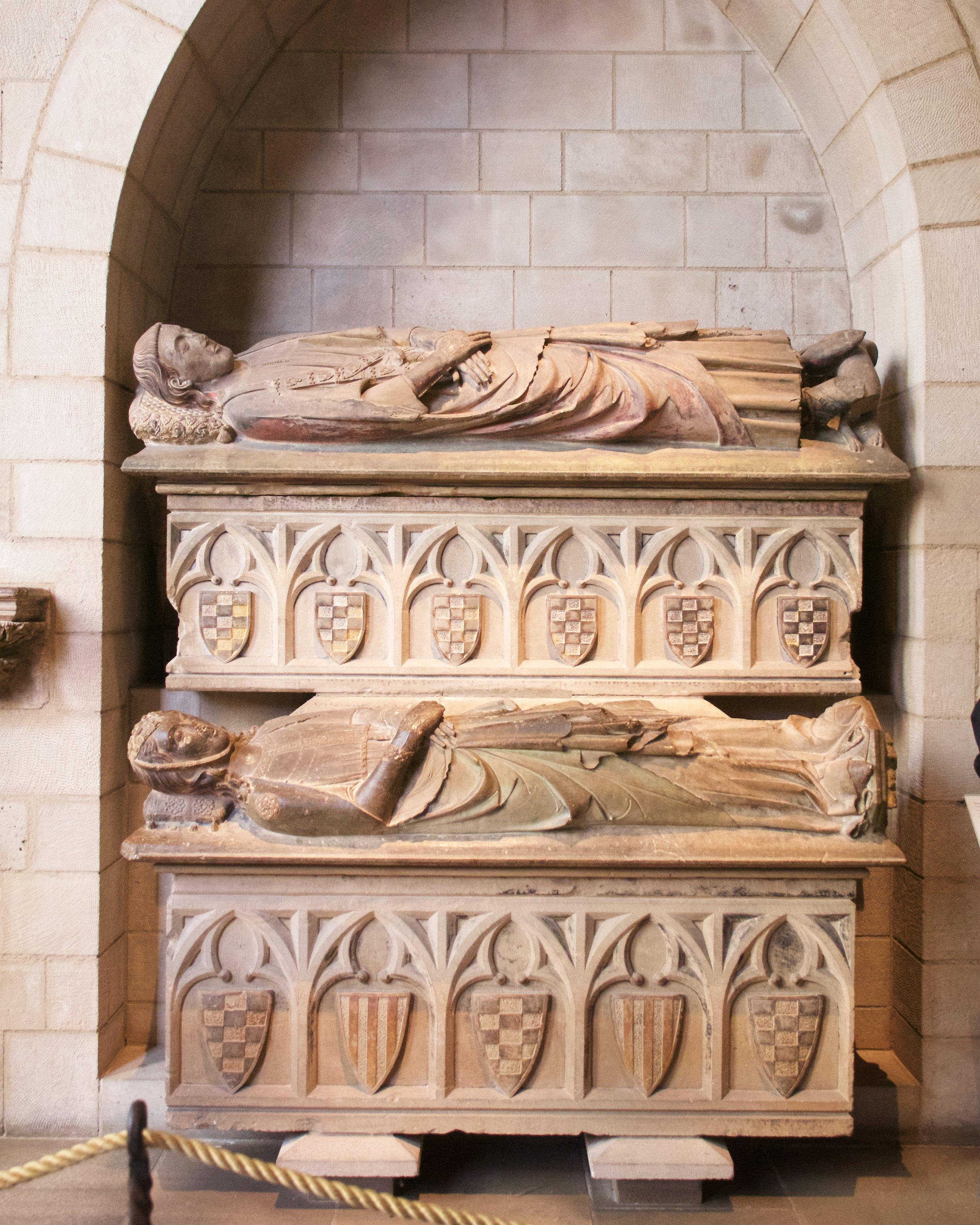 Double Tomb of Don Àlvar Rodrigo de Cabrera, Count of Urgell and His Wife Cecília of Foix