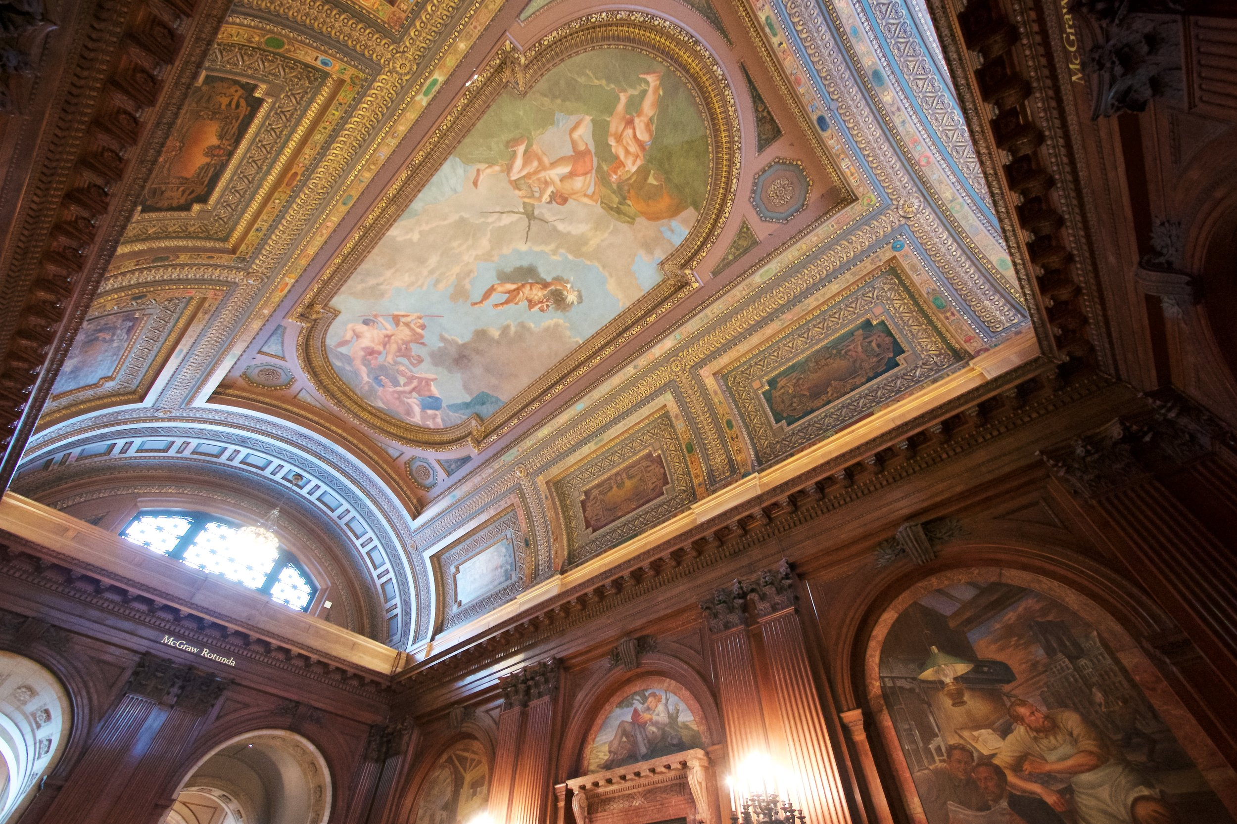 McGraw Rotunda, New York Public Library