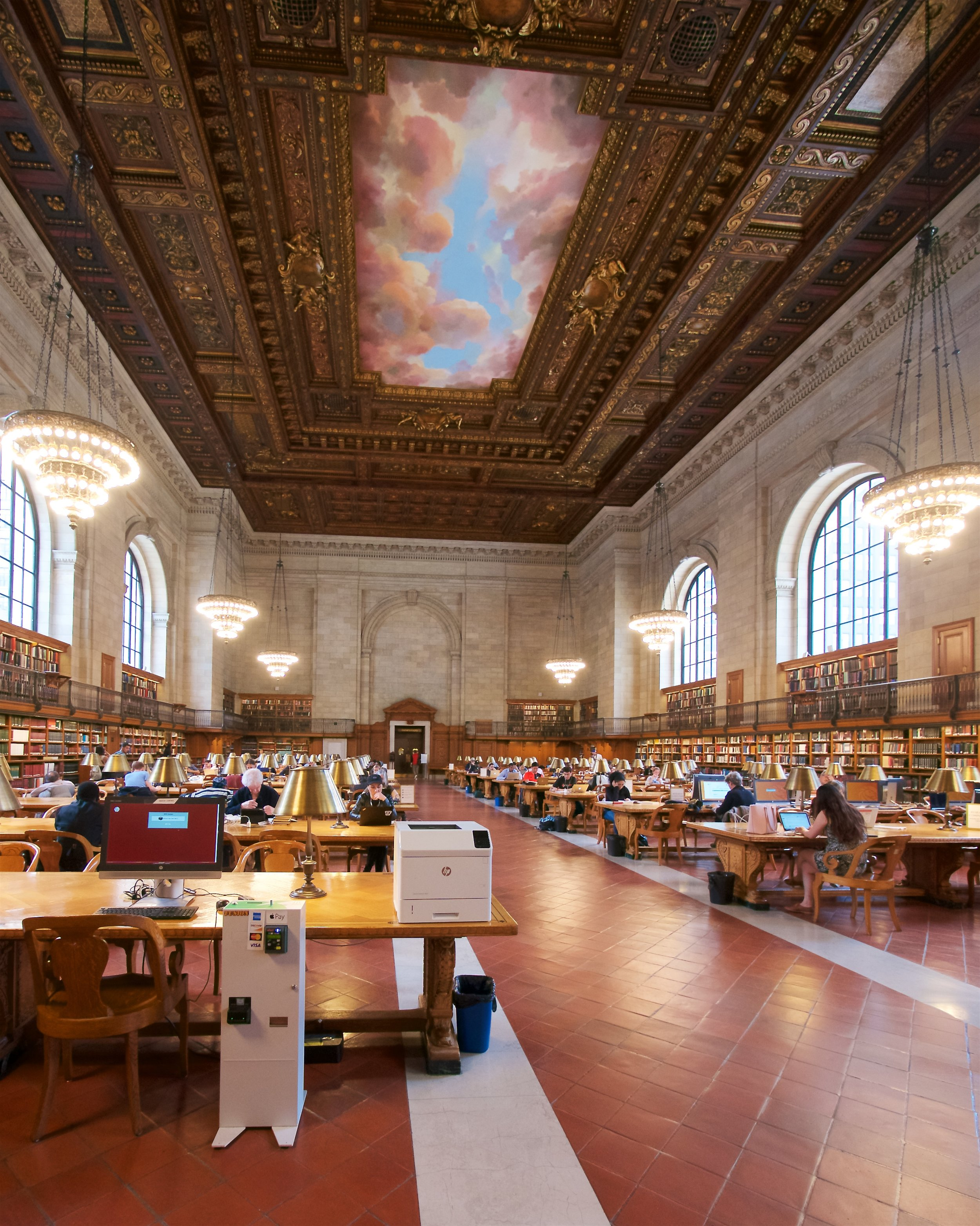 Reading Room, New York Public Library