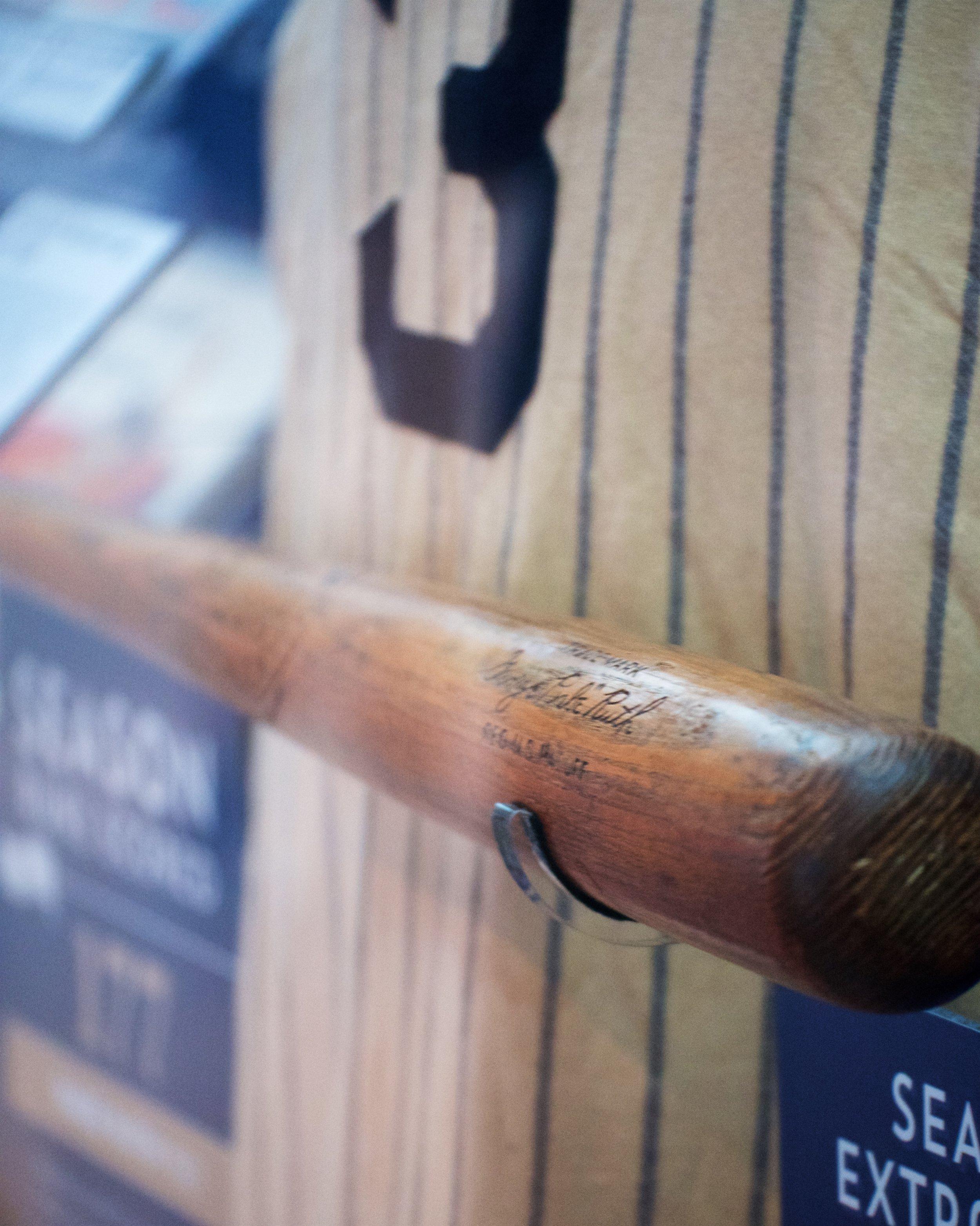 Yankee Museum, Babe Ruth bat