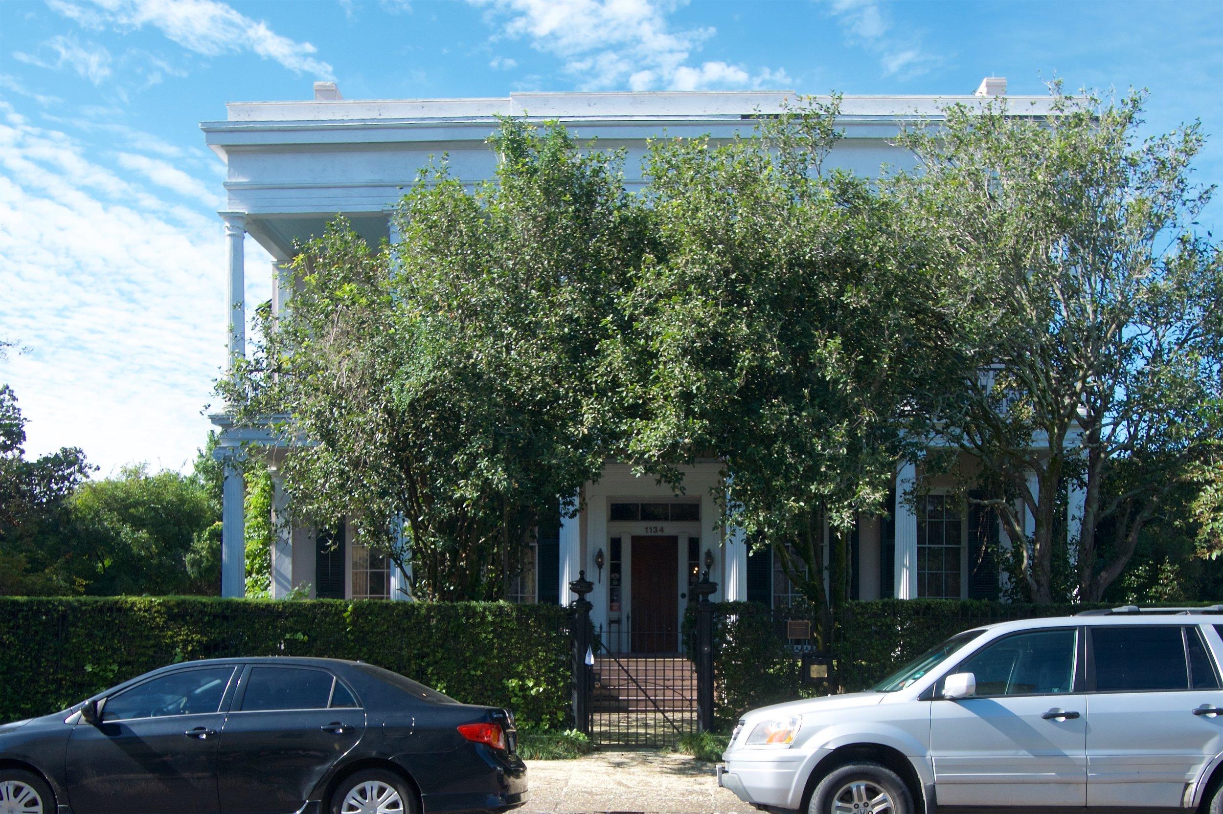 House where Jefferson Davis died