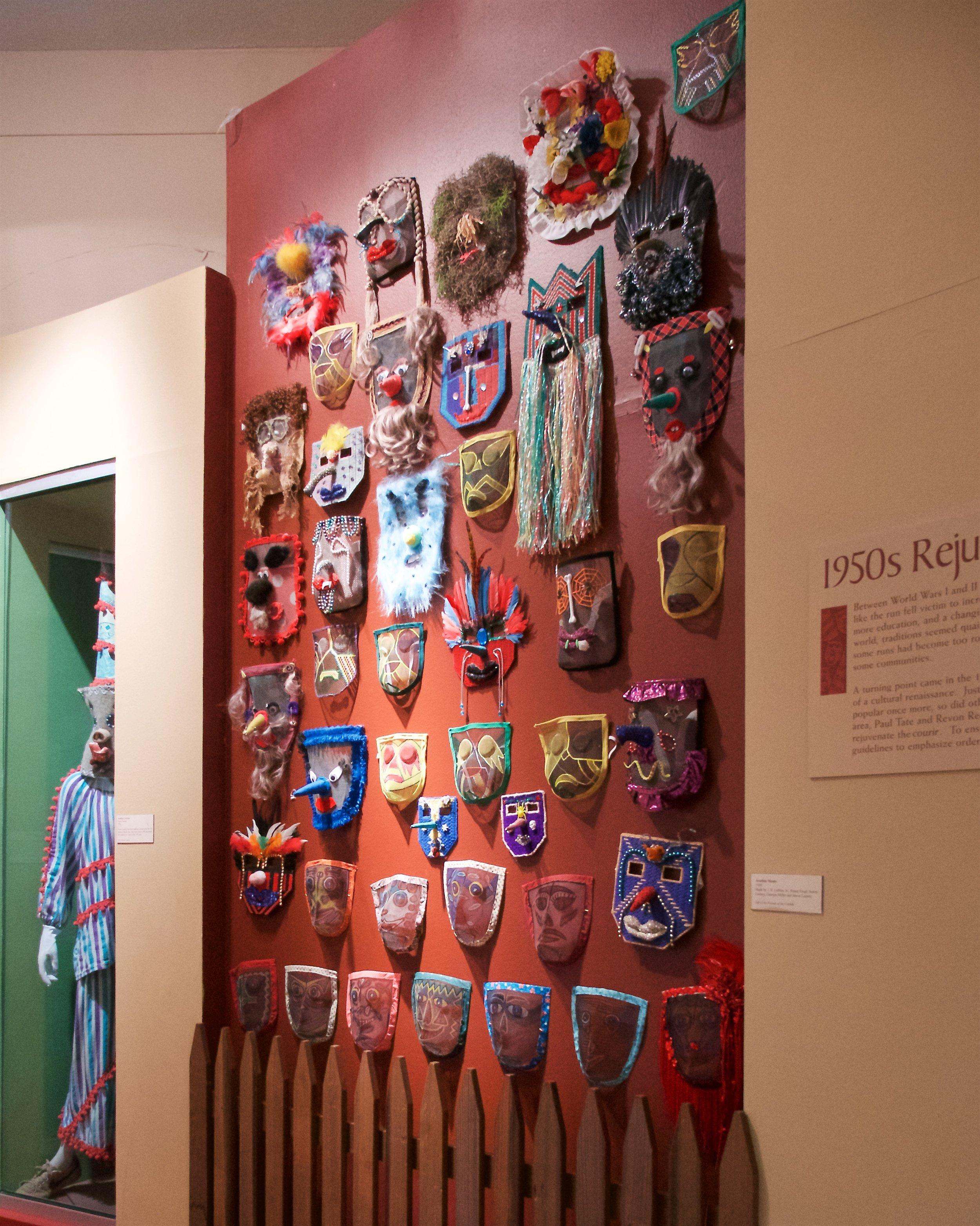 Arcadian masks