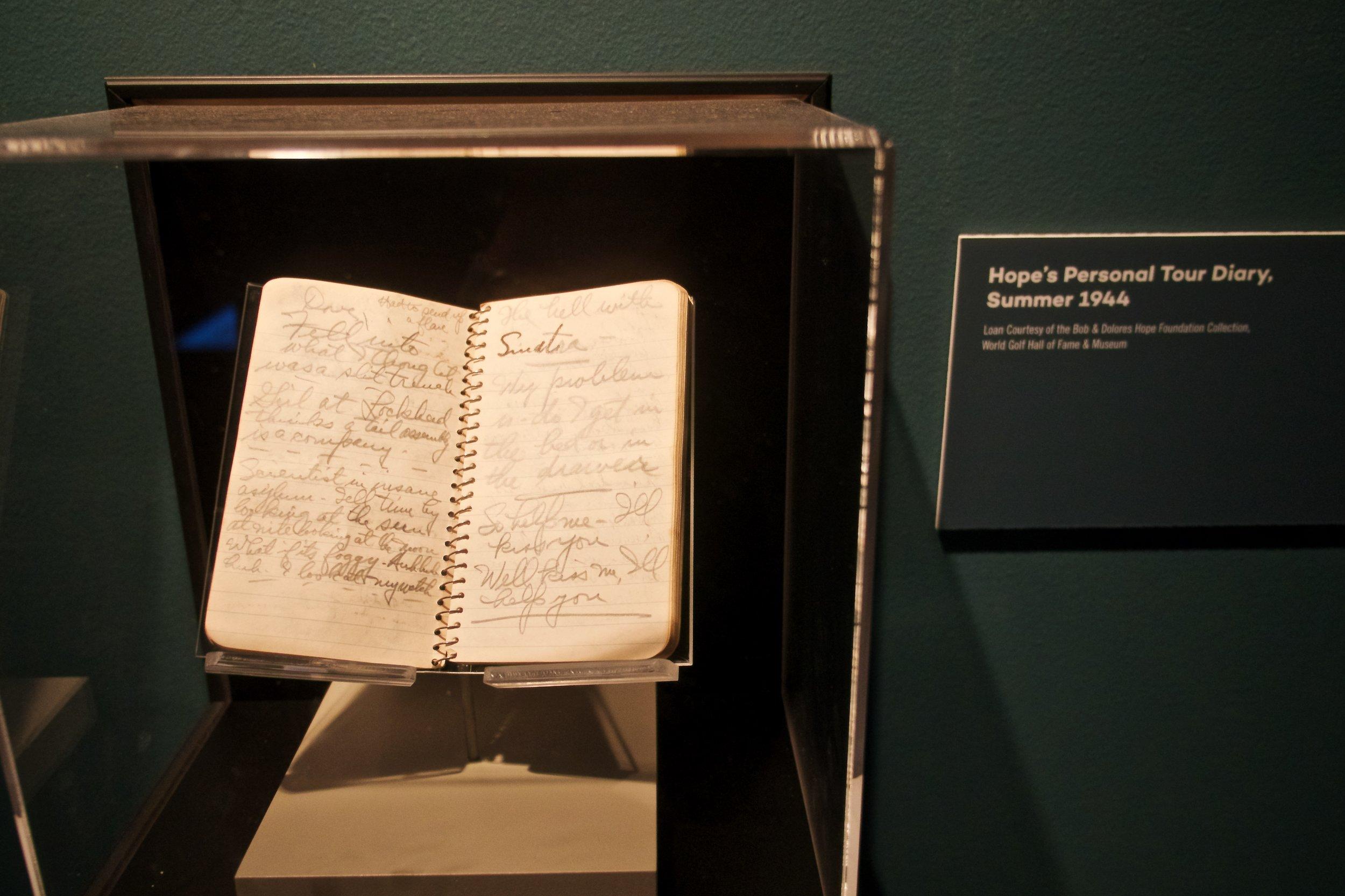 Bob Hope's 1944 tour diary