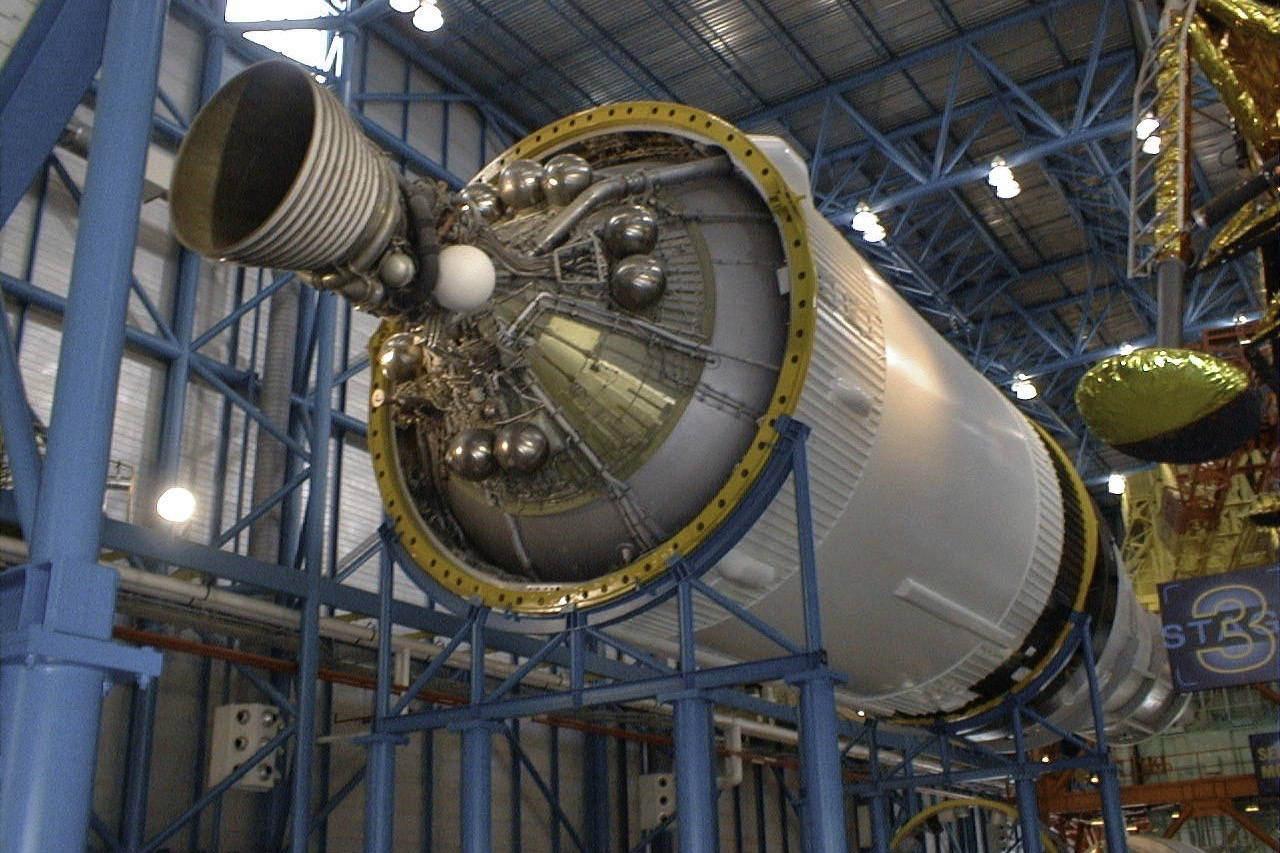Saturn V third stage J-2 engine