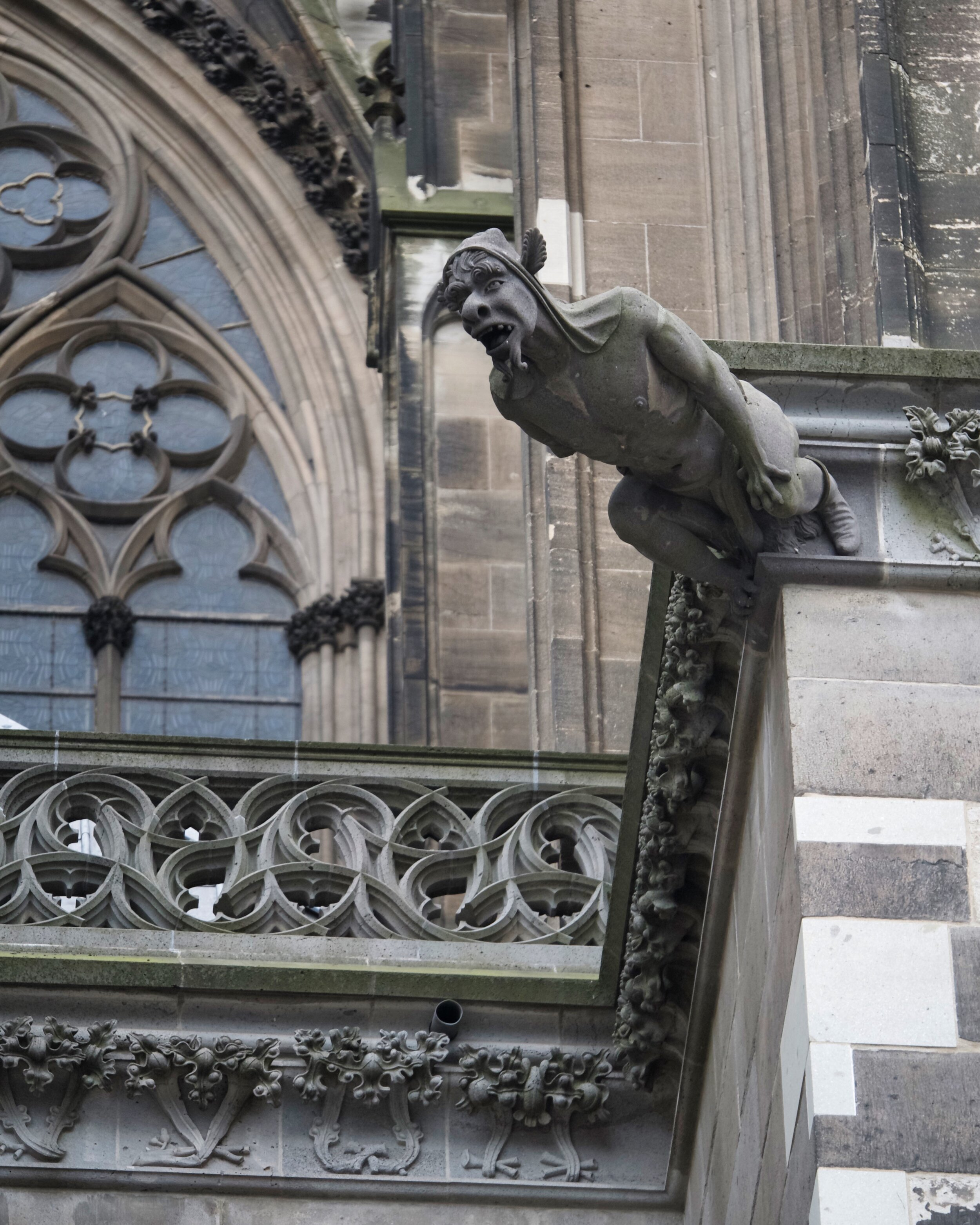 Gargoyle on Cologne Cathedral