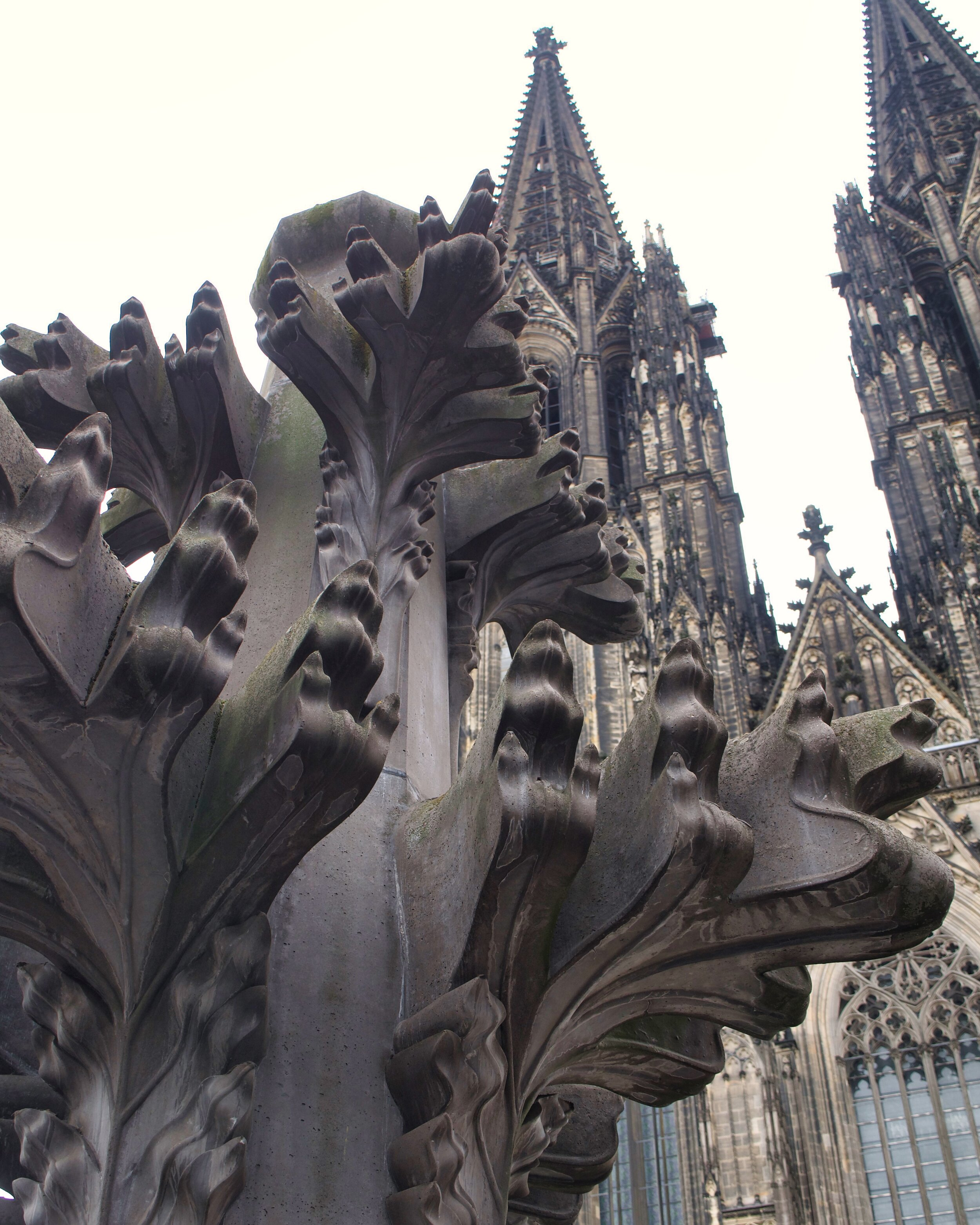 Replica of spire on the Cologne Cathedral