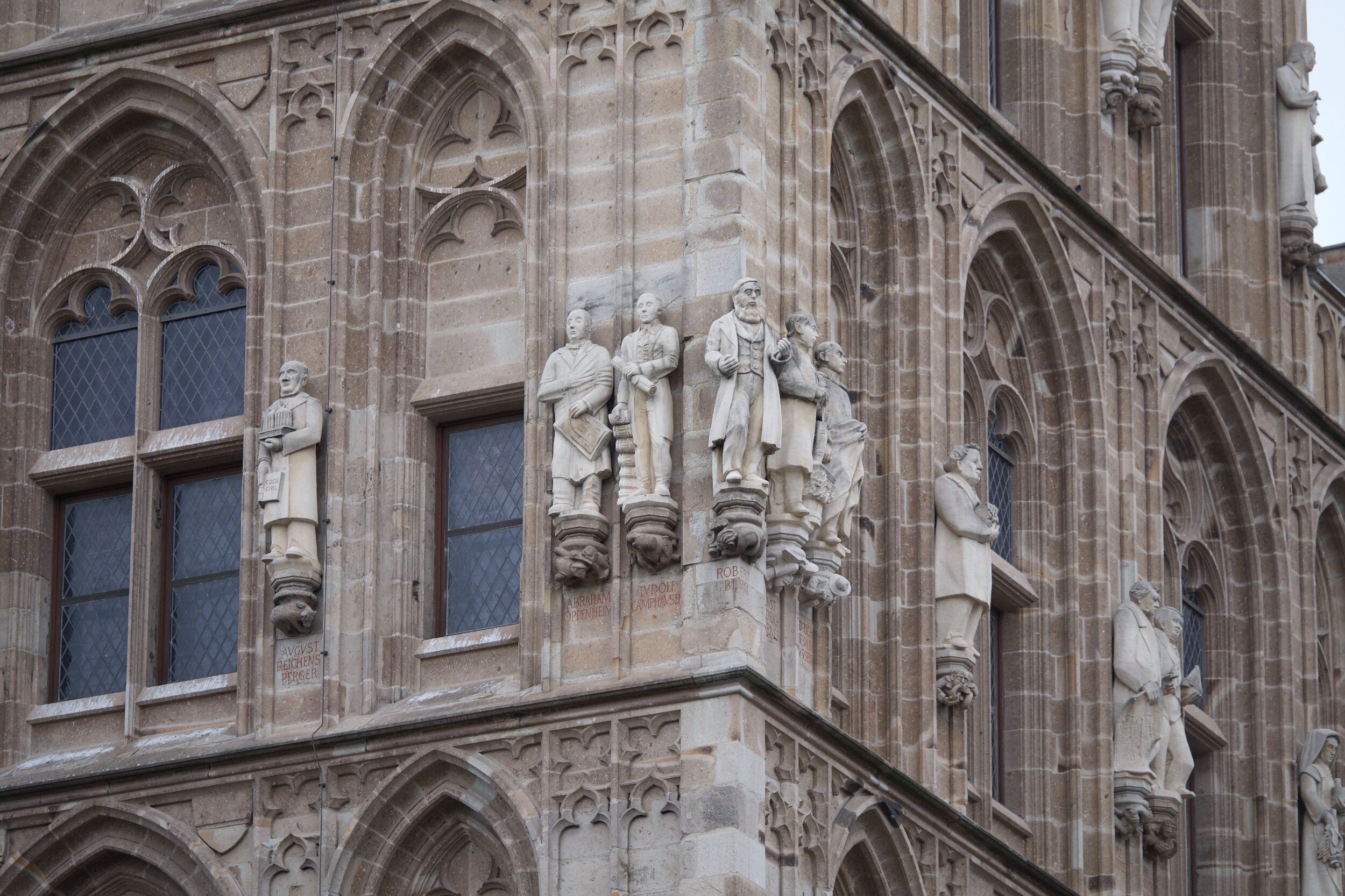 Statues on City Hall