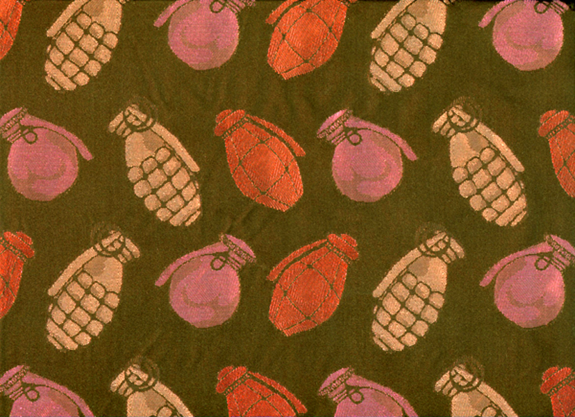 Copy of Silk Jacquard Sample - Pretty Grenades.jpg