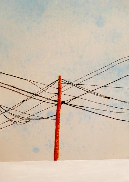 Power Line Triptych (Middle) (10x13)