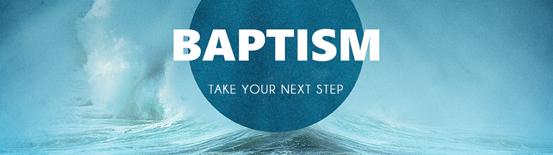 If you would like to take the next step in your journey with the Lord and be baptized, please fill this form out.
