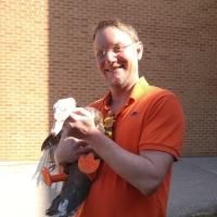Jason Jischke   Teacher -South Park Middle School - Oshkosh, WI   Designer of 'Phillip the Duck's' prosthetic feet.