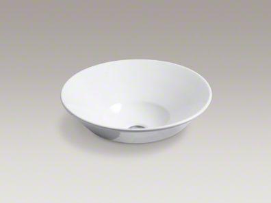 kohler/c onical bell/above-counter/sink