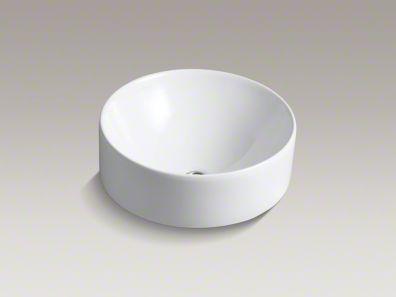 kohler/v ox/round/above-counter/sink