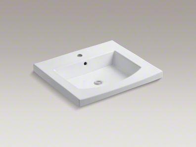kohler/p ersuade/curve/vanity-top/sink