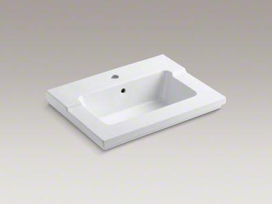 kohler/t resham/vanity-top/sink