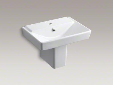 kohler/r eve/wall mount/sink