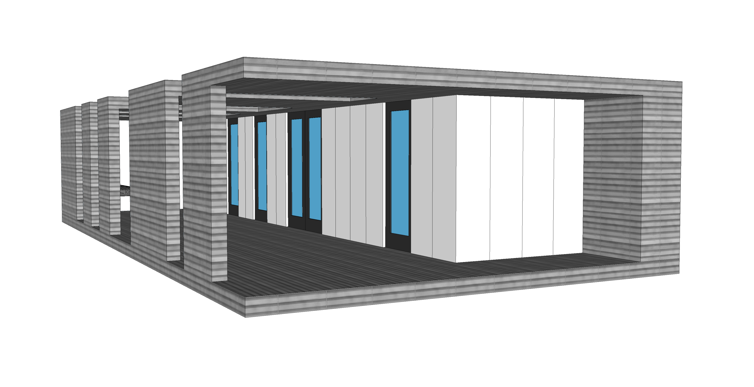 blackpoll container house concept