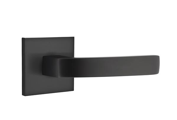 EMTEK | Breslin Lever, Square Rosette | FLAT BLACK.jpg