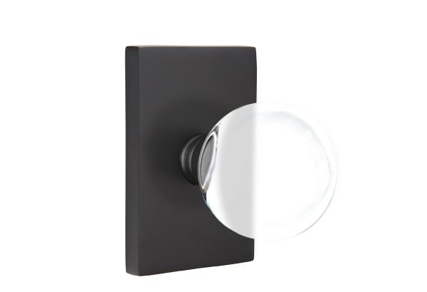 EMTEK | Bristol Knob - Modern, Modern Rectangular Rosette | FLAT BLACK.jpg