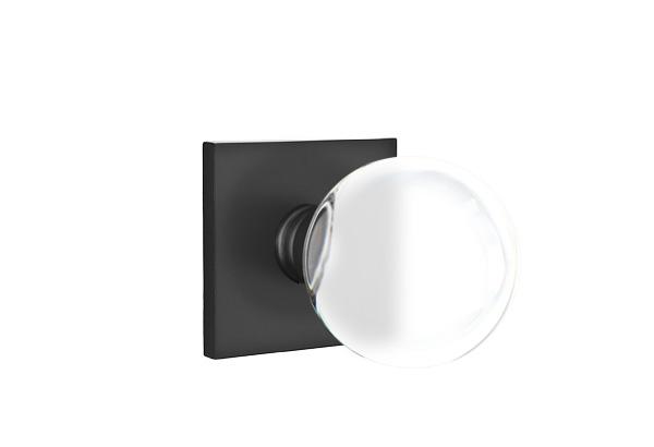 EMTEK | Bristol Knob - Modern, Square Rosette | FLAT BLACK.jpg