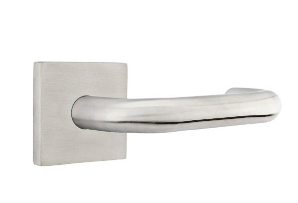 EMTEK | Cologne Lever, Square Stainless Steel Rosette | STAINLESS STEEL.jpg
