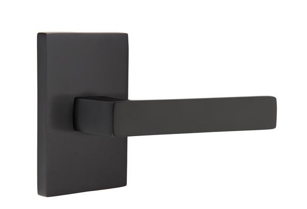 EMTEK | Dumont Lever, Modern Rectangular Rosette | FLAT BLACK.jpg
