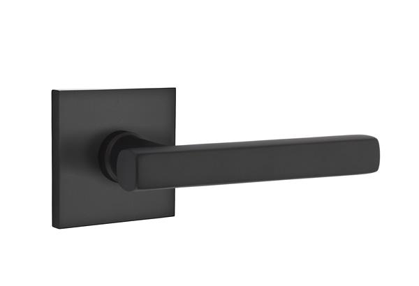 EMTEK | Freestone Lever, Square Rosette | FLAT BLACK.jpg