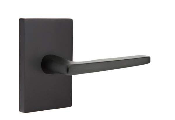 EMTEK | Hermes Lever, Modern Rectangular Rosette | FLAT BLACK.jpg