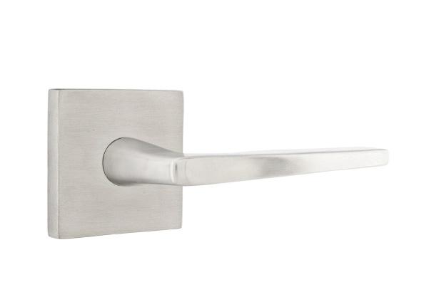 EMTEK | Hermes Lever, Square Stainless Steel Rosette | STAINLESS STEEL.jpg