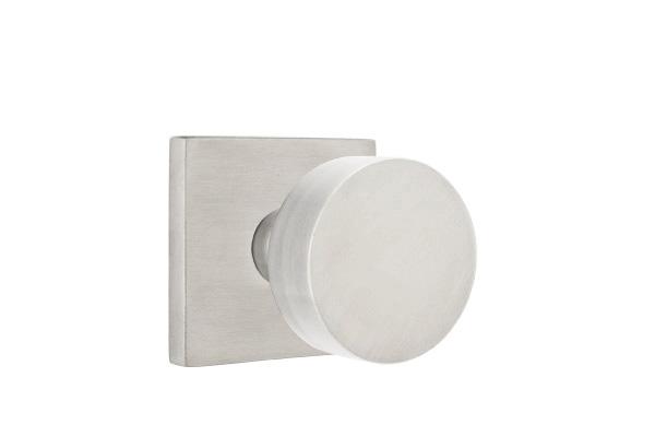 EMTEK | Round Knob, Square Stainless Steel Rosette | STAINLESS STEEL.jpg