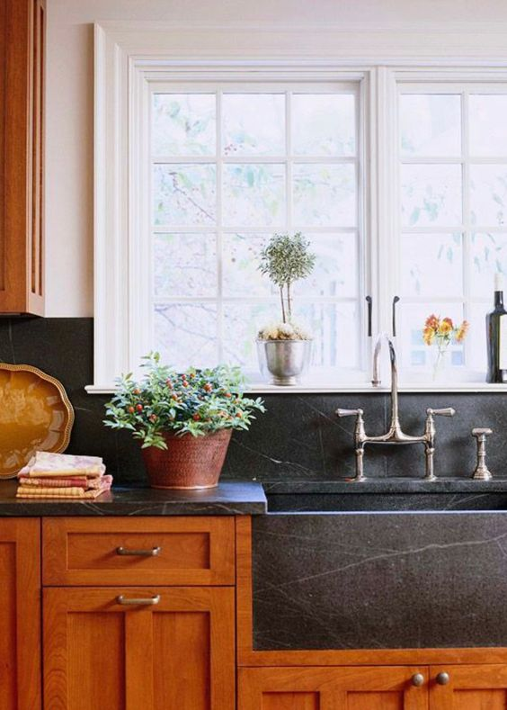 SOAPSTONE | FARMHOUSE SINK & COUNTERTOP