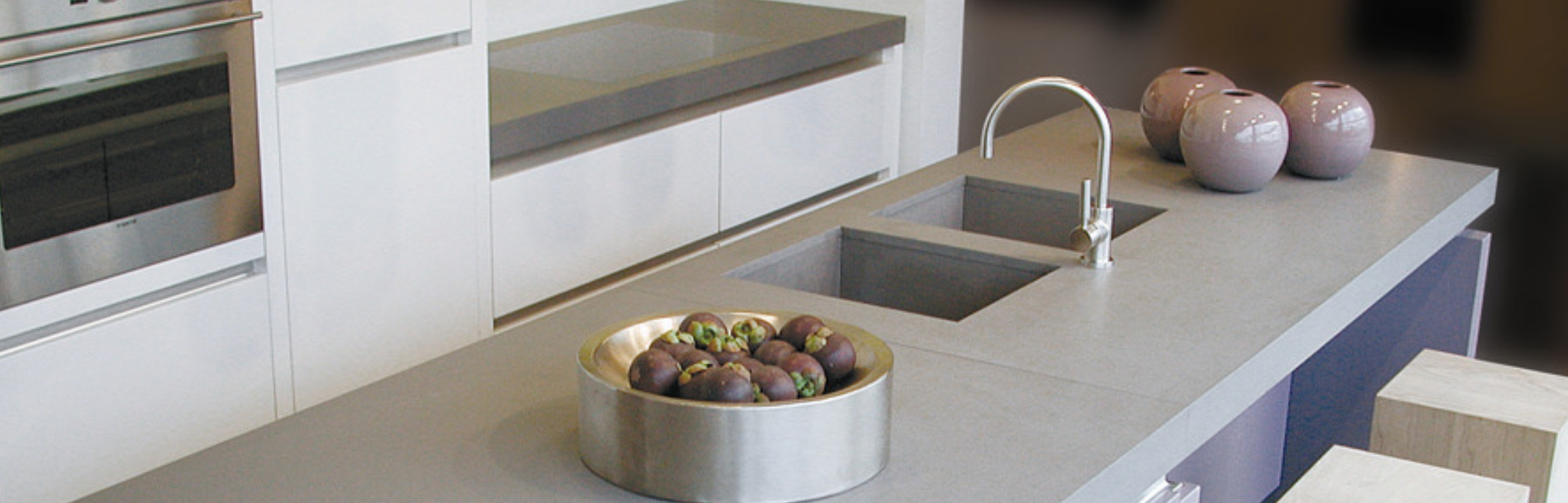 CAESARSTONE | CONCRETE | KITCHEN