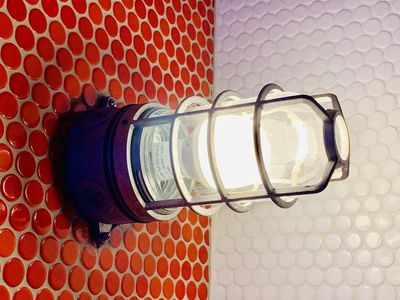 LONGHAUS | PENNY TILE | CAGE LIGHT