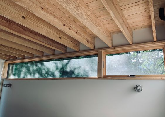 LONGHAUS | PROSPEKT CEILING | PEREGRINE WINDOW TRIM