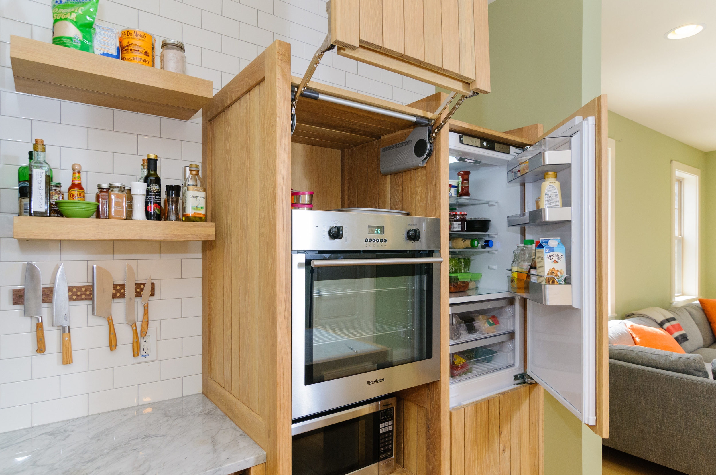 ROOST   TENON KITCHEN   INTEGRATED APPLIANCE TOWER