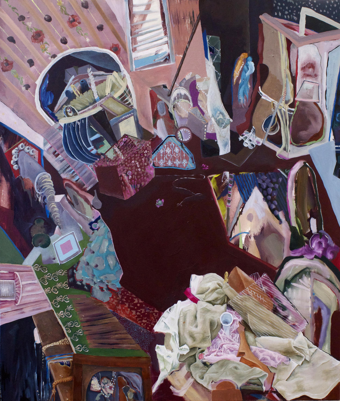 """'Familiar', 36"""" x 42"""", Oil on Canvas, 2013"""